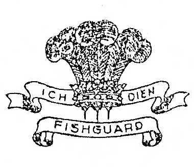 Badge of Pembroke and Cardinganshire Yeomanry