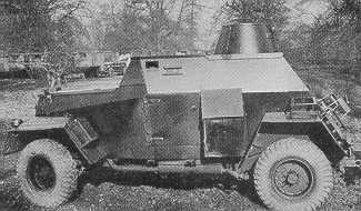 Humber MKIIIa Scout Car with small turret.