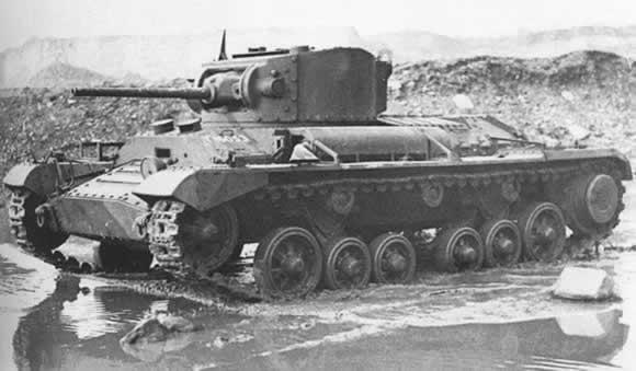 Valentine I Infantry Tank