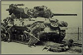 Wolverine Tank Destroyer. Note there is no muzzle break, which denotes the 76mm gun
