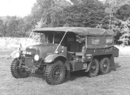 Morris 6x4 Light AA Tractor