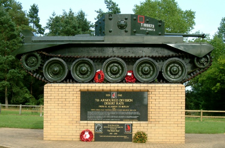 The Desert Rats Association - 7th Armoured Division ...